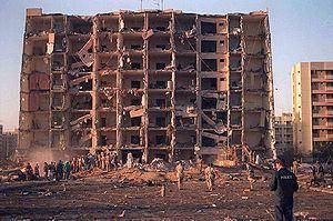 Khobar Towers bombing httpsuploadwikimediaorgwikipediacommonsthu