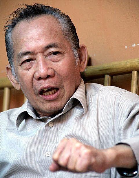 Khoo Kay Kim Emeritus Professor in the History Department of the