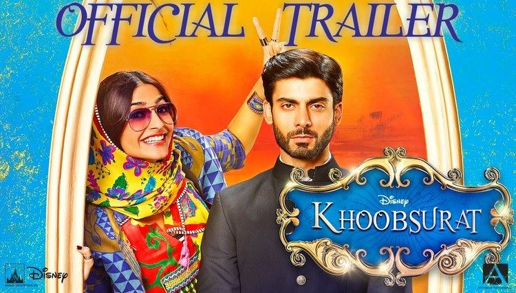 Khoobsurat Official Movie TrailerStarring Sonam Kapoor and Fawad