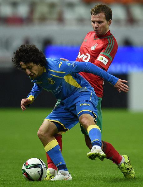 Khoren Bayramyan Khoren Bayramyan Photos Photos Lokomotiv Moscow v FC Rostov