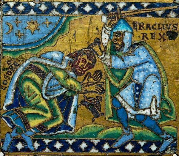 Khosrow II 13 best Khosrow II images on Pinterest Persian Byzantine and Iran