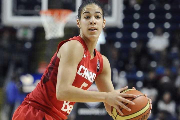 Kia Nurse BarDown Oneonone w Canadian basketball star Kia Nurse
