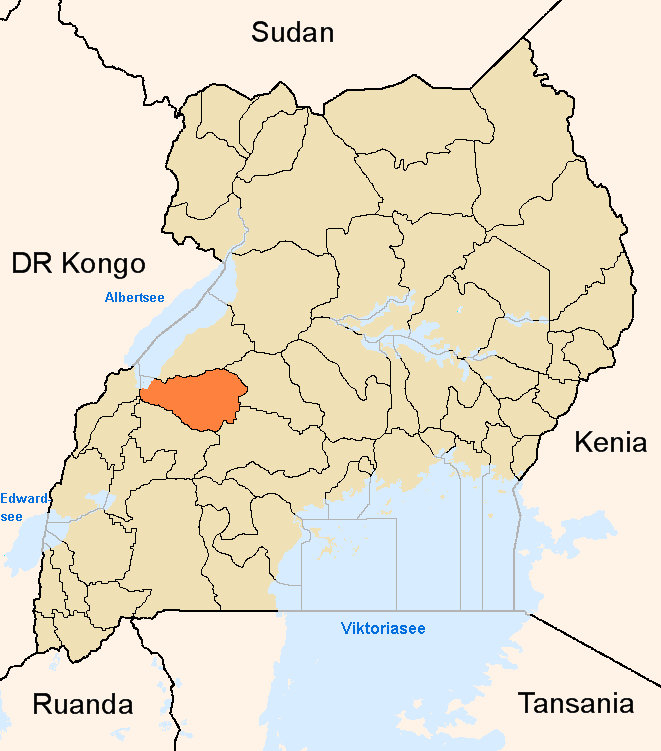 Kibaale District in the past, History of Kibaale District