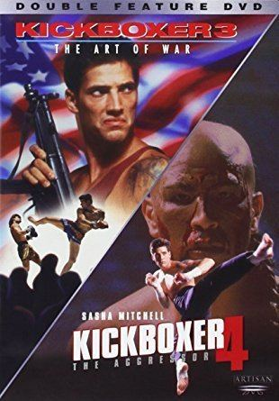 Kickboxer 3 Amazoncom Kickboxer 3 The Art of War Kickboxer 4 The Aggressor