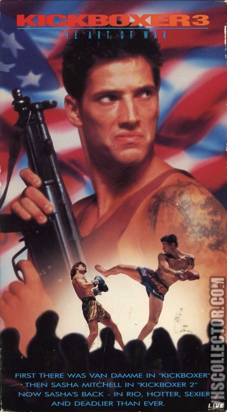 Kickboxer 3 Kickboxer 3 The Art Of War VHSCollectorcom Your Analog