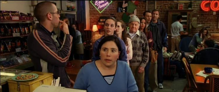 Kicking %26 Screaming (2005 film) movie scenes Anyway the coffee shop that Mike wanted to stalk is named Bean Town Coffee Bar and it was featured several times in the 2005 Will Ferrell movie Kicking and