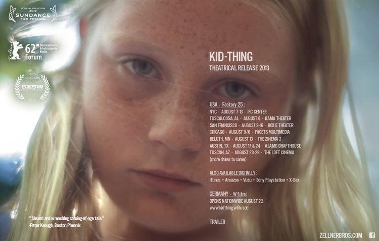 Kid-Thing KIDTHING a film by the zellner bros