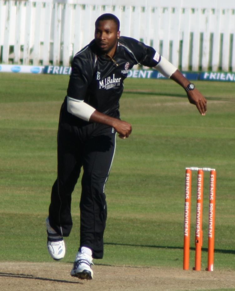 Kieron Pollard (Cricketer) playing cricket