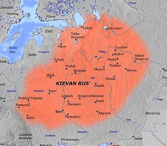 Kievan Rus' Kievan Rus The Middle Ages Facts for Kids