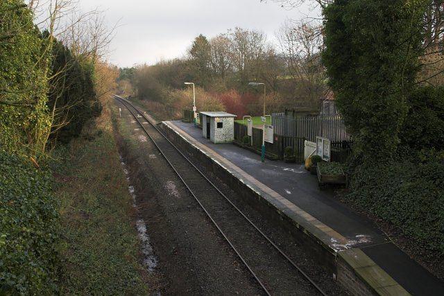 Kildale railway station