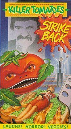 Killer Tomatoes Strike Back Amazoncom Killer Tomatoes Strike Back VHS Robin Abb Tom