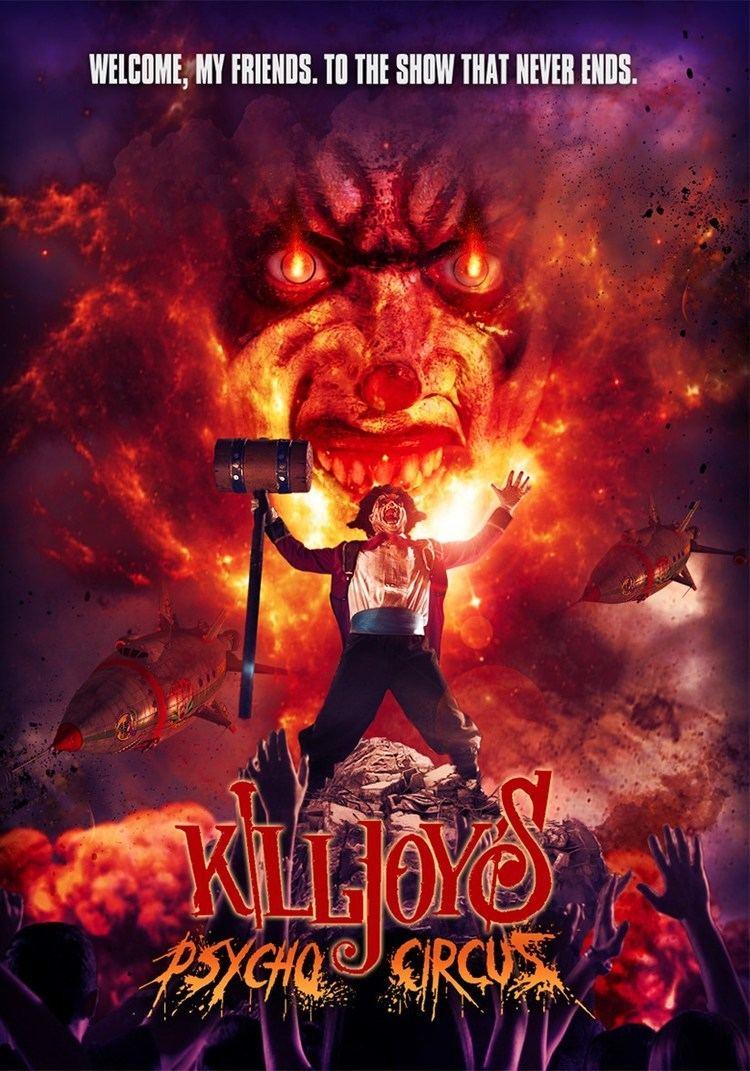 Killjoy (film series) Movie Review Killjoys Psycho Circus 2016 Shattered Ravings