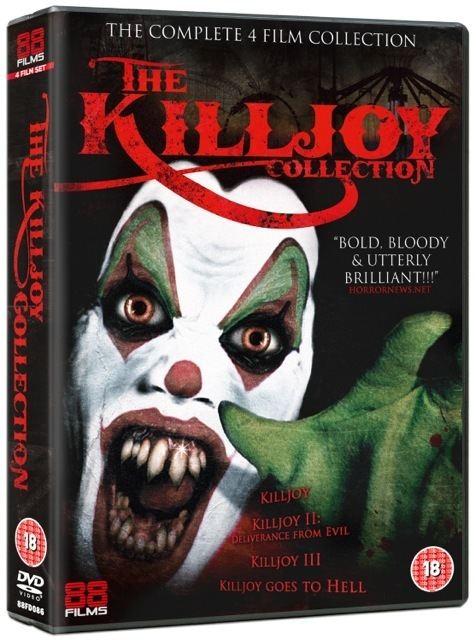 Killjoy (film series) The Killjoy Collection 88 Films DVD Review Pissed Off Geek