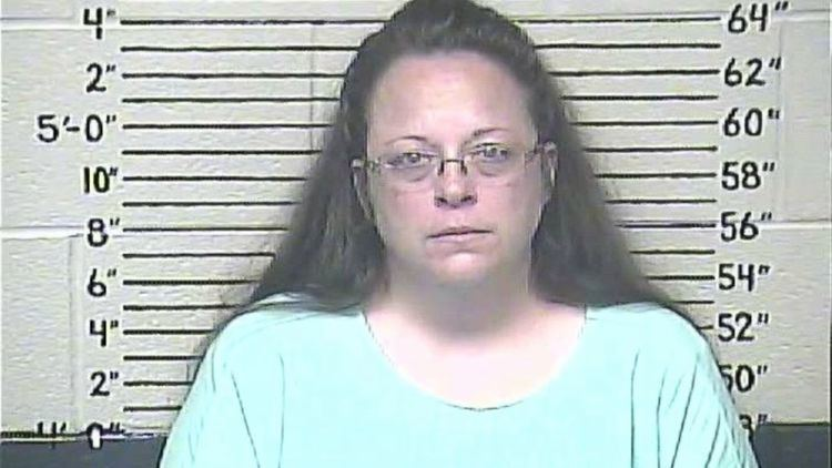 Kim Davis (county clerk) Jailed Kentucky County Clerk Kim Davis What39s Next for