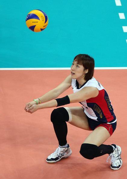 Kim Hee-jin HeeJin Kim Photos Olympics Day 7 Volleyball Zimbio