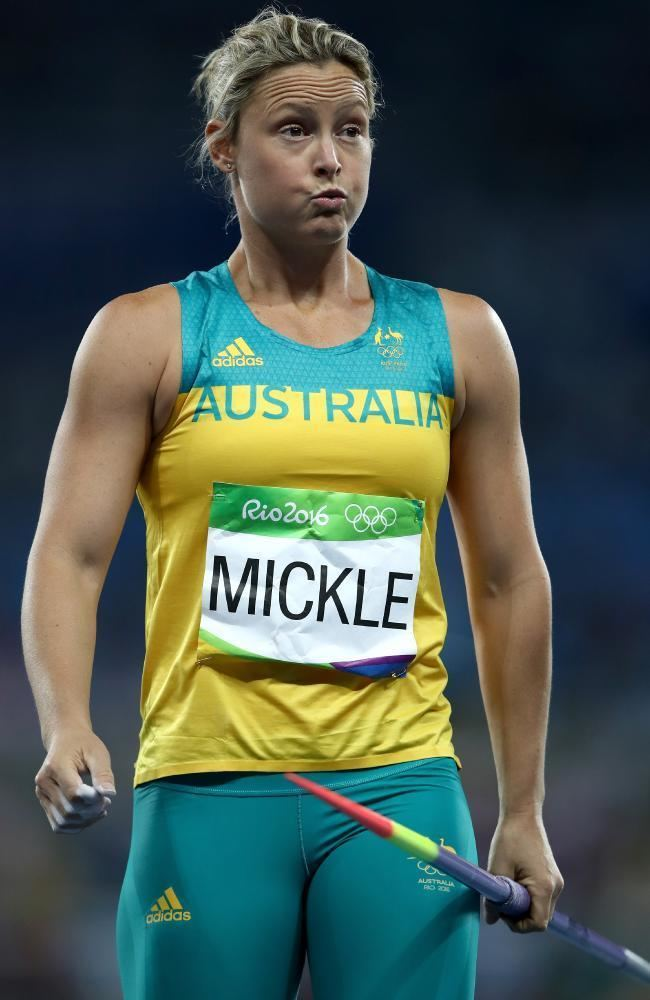 Kim Mickle Aussie javelin Olympian Kim Mickle39s agonising ordeal after shoulder