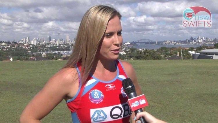 Kimberlee Green Kimberlee Green named 2014 NSW Swifts Captain YouTube