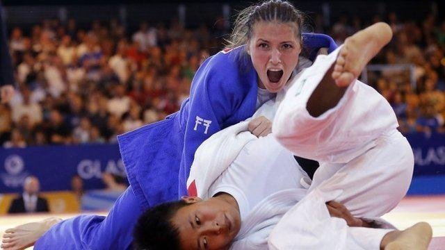 Kimberley Renicks Glasgow 2014 Kimberley amp Louise Renicks win golds for