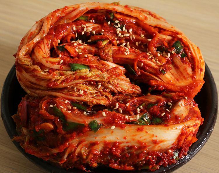 Kimchi Traditional napa cabbage kimchi recipe Maangchicom