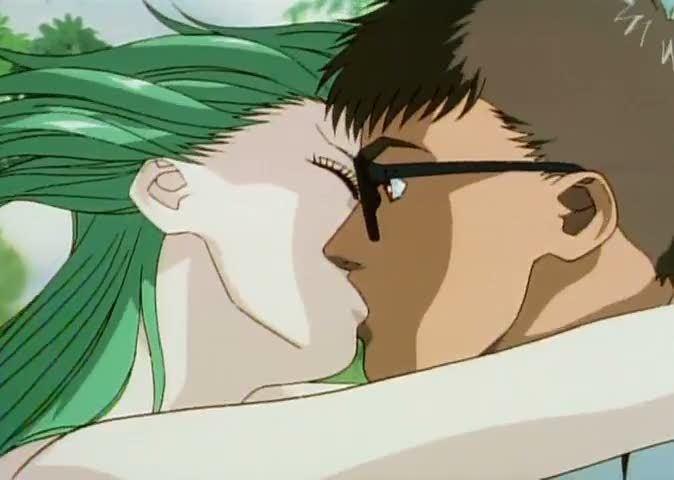 Kimera (manga) movie scenes inter species kiss