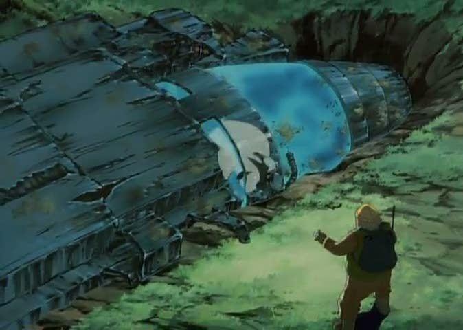 Kimera (manga) movie scenes pod