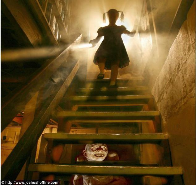 Kind Lady (1935 film) movie scenes Watch out A creature lurking under the staircase for the innocent child is a classic