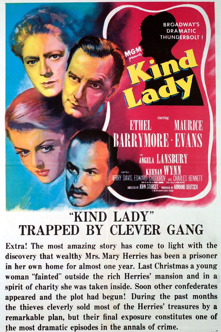 Kind Lady (1951 film) wwwgstaticcomtvthumbmovieposters8367p8367p