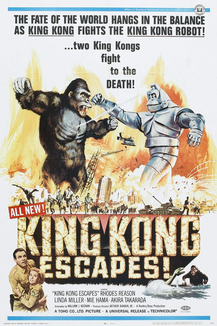King Kong Escapes wwwgstaticcomtvthumbmovieposters2351p2351p