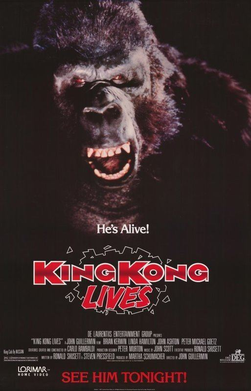 King Kong Lives King Kong Lives 1986