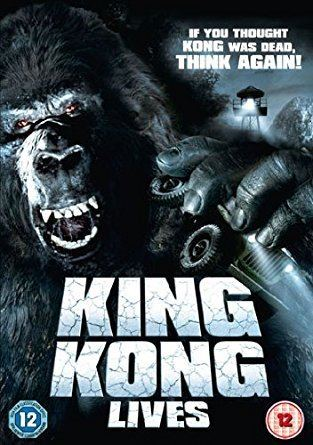 King Kong Lives King Kong Lives DVD Amazoncouk Brian Kerwin Linda Hamilton
