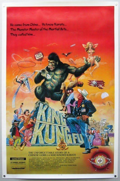 King Kung Fu Legion King Kung Fu 1976 Unreleased Soundtrack The Gorilla Rag