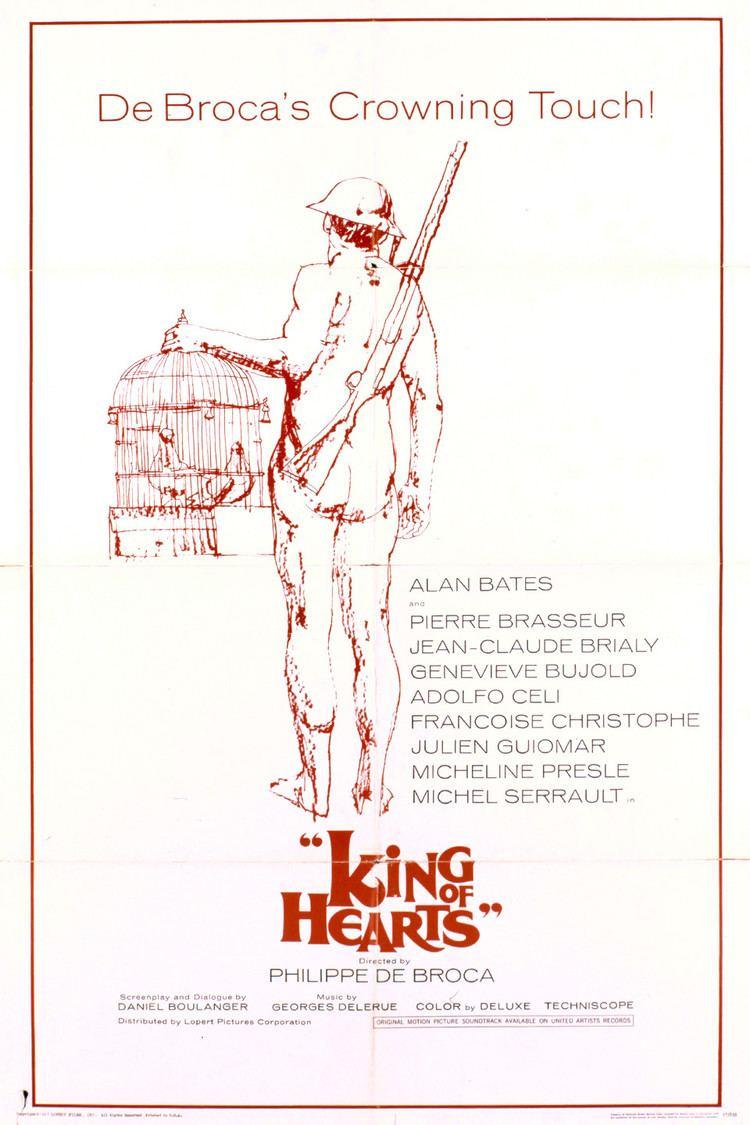 King of Hearts (1966 film) wwwgstaticcomtvthumbmovieposters7000p7000p
