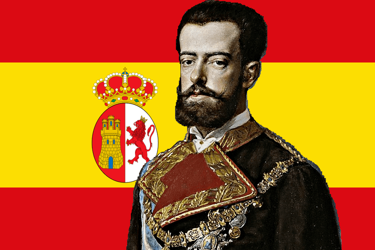 King of Italy The Italian Monarchist Amadeo I the Italian King of Spain