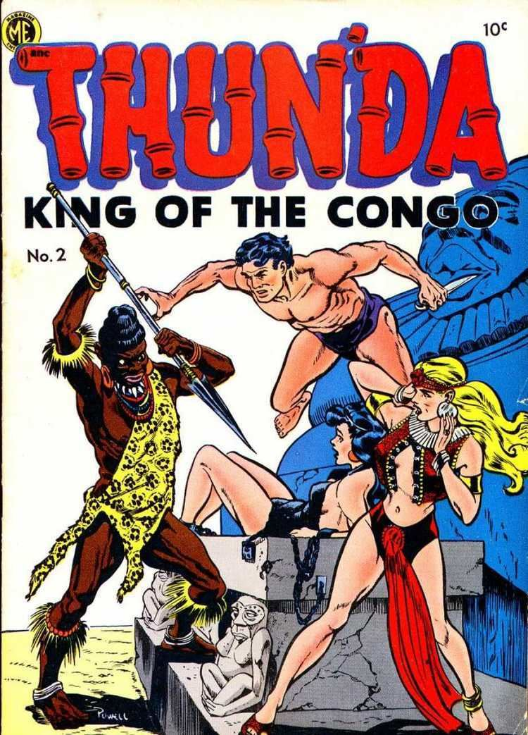 King of the Congo Thunda King of the Congo 2 The White Goddess of Kotangu Issue