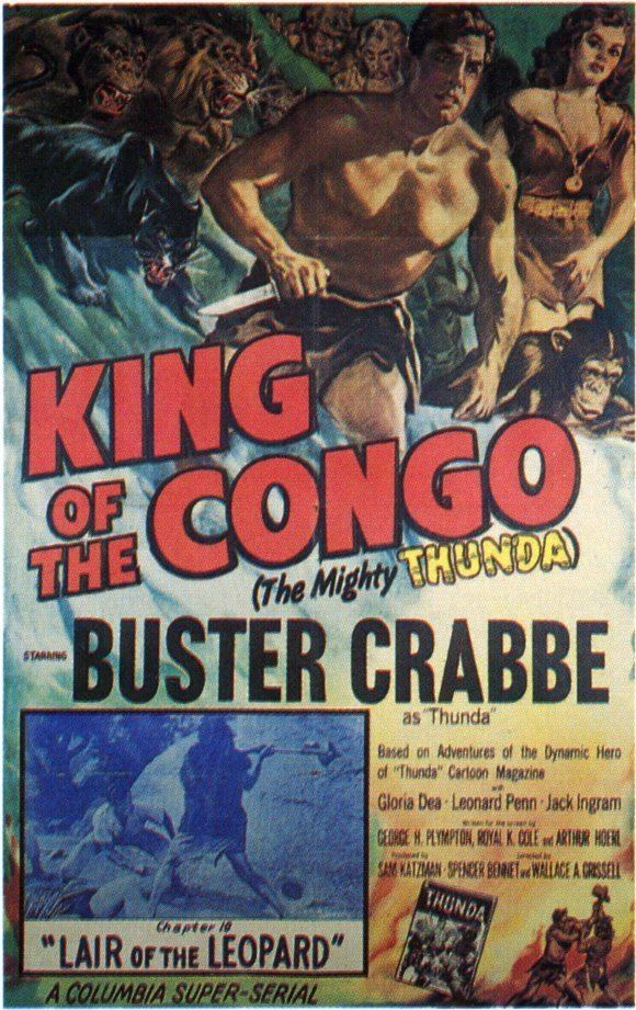 King of the Congo King of the Congo Movie Posters From Movie Poster Shop