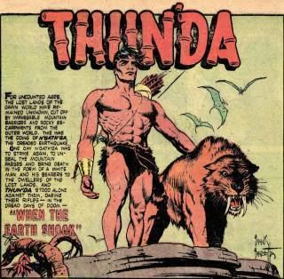 King of the Congo Thunda Character Comic Vine