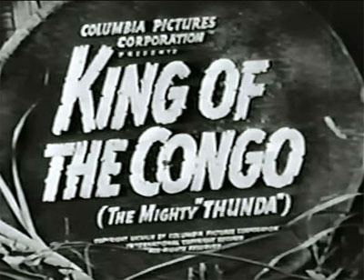 King of the Congo King of the Congo The Files of Jerry Blake