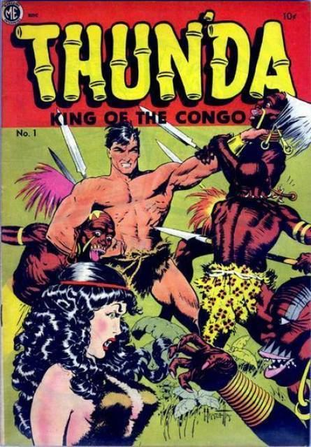 King of the Congo Thunda King of the Congo 1 King of the Lost Lands Issue