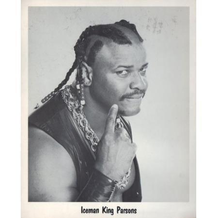 King Parsons Vintage 8 x 10 Wrestling Photo Iceman King Parsons Professional