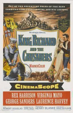 King Richard and the Crusaders movie poster