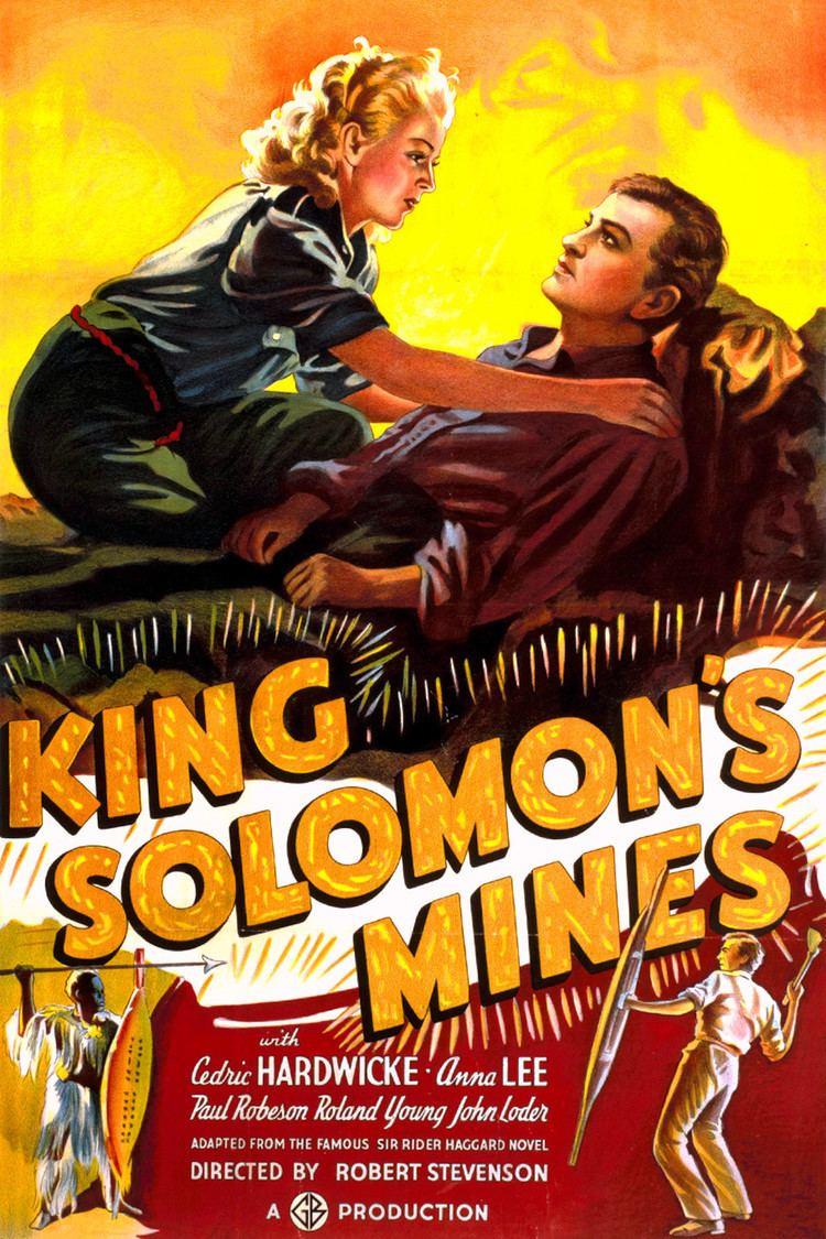 King Solomon's Mines (1937 film) wwwgstaticcomtvthumbmovieposters8989p8989p