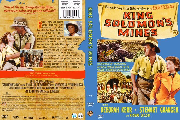 King Solomon's Mines (1950 film) King Solomons Mines DVD Cover 1950 R1