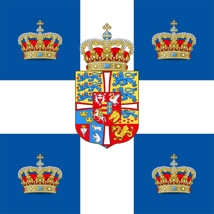 Kingdom of Greece FileRoyal Standard of the Kingdom of Greece 19361967svg