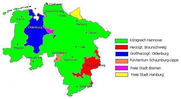 Kingdom of Hanover Kingdom of Hanover