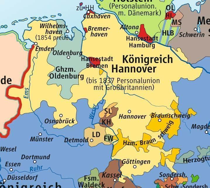 Kingdom of Hanover A Brief History of Hanover