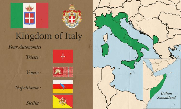 Kingdom of Italy Kingdom of Italy by KyriakosCyp on DeviantArt