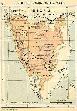 Kingdom of Mysore Hyder Ali amp Kingdom of Mysore Our Last Challenge Destination