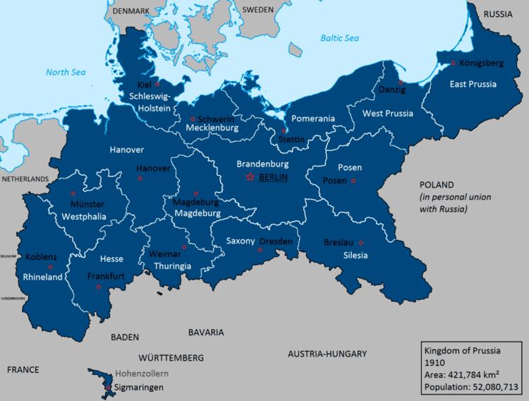 Kingdom of Prussia Kingdom of Prussia in 1910 by Lehnaru on DeviantArt