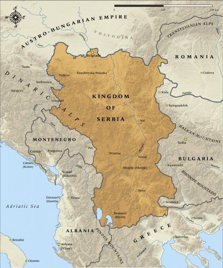 Kingdom of Serbia Why Croats and Serbs speak the same language Page 21 Historum
