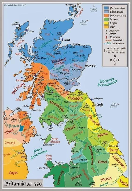 Kingdom of Strathclyde McCain39s Corner Scotland Anno Domini 570